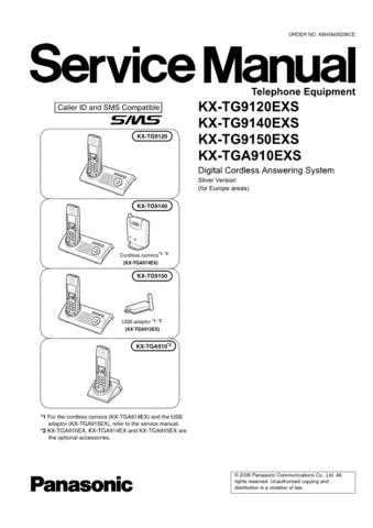 Panasonic KX-TG8120GRS Manual by download Mauritron #300526