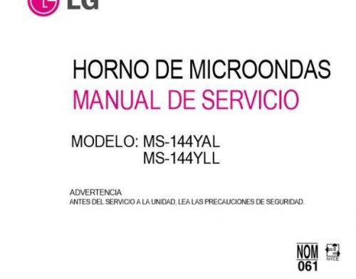 LG 3828W5S4276_2 Manual by download Mauritron #304318