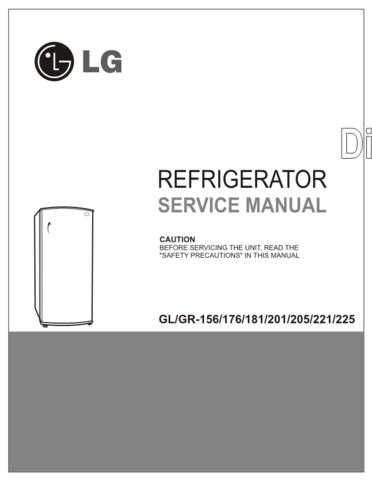 LG LG-Refrigerator SVC Manual (DC -201_221)_2 Manual by download Mauritron #305052