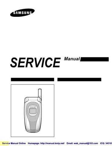 Samsung SCH-X359 Mobile Phone Service Manual by download Mauritron #306266