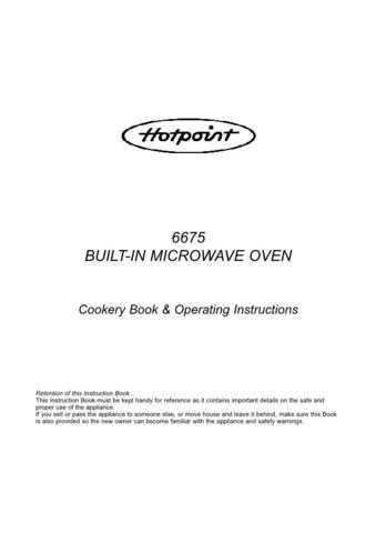 Hotpoint 6675 Part 2 Microwave Oven Operating Guide by download Mauritron #309928