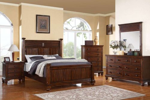 Eastern King Bed Bedroom Set king Bedroom Furniture 5 piece Bedroom set Bed Fram