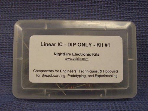 Linear IC DIP-Only Design Kit #1 with PCB (#1305)