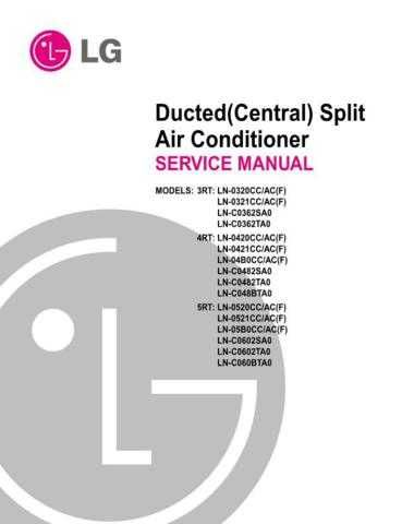 LG LN-C0362TA0 Manual by download Mauritron #305354