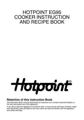 Hotpoint HBEG95C Operating Guide by download Mauritron #312094