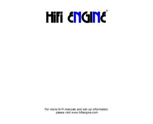 JVC hifiengine jvc mca-v7e service Service Manual by download Mauritron #281208