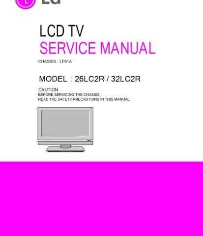 LG LG-32LC2R] Manual by download Mauritron #304811