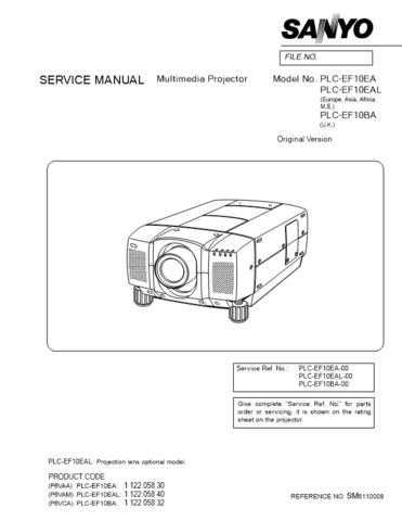 Sanyo-AVM3659G same as AVM3658G Manual by download Mauritron #312631