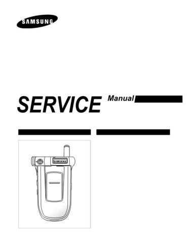 Samsung SGH-P400 Mobile Phone Service Manual by download Mauritron #306403