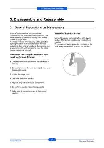 20080630092549375 03-DISASSEMBLY Manual by download Mauritron #303057