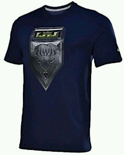 Men's Nike Dri- fit Tshirt. Lebron Super Hero Badge, New with Tags; Size Large