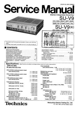 Panasonic SVD9308722 Manual by download Mauritron #301752