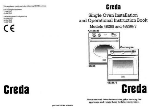 Creda 48254_EARLY_HB48293 Operating Guide by download Mauritron #312739