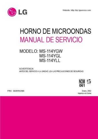 LG 3828W5S2069_2 Manual by download Mauritron #304271