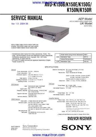 AVD-K150_DAV-D150 by download Mauritron #306852