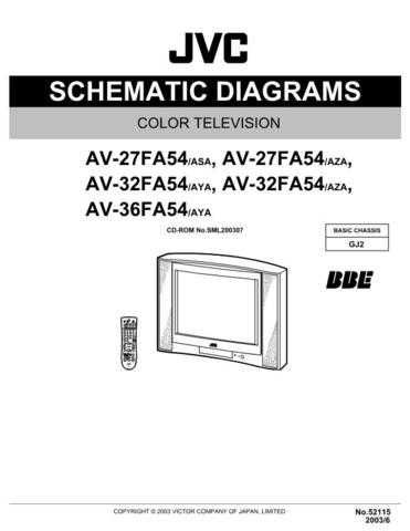 JVC AV-32320 Service Manual by download Mauritron #279916