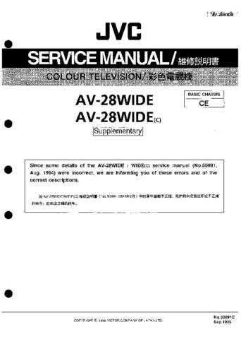 JVC AV-N65P74 SCH Service Manual by download Mauritron #280071