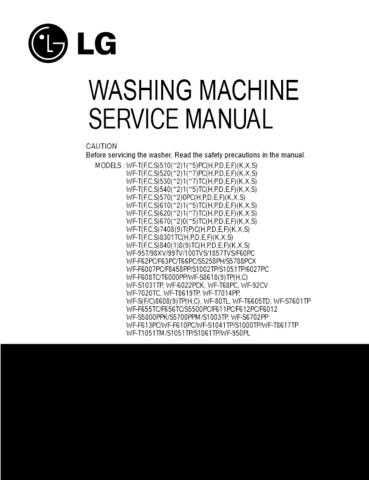 LG 3828EA3013A-???? Manual by download Mauritron #304108