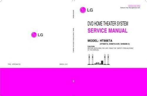LG SH96SB SH-96SB-C Service Manual by download Mauritron #330754