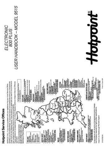 Hotpoint 9515 Laundry Operating Guide by download Mauritron #313406