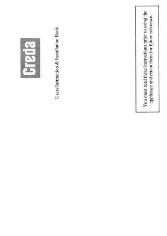 Creda HB48104 Operating Guide by download Mauritron #312882