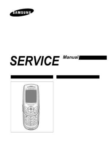 Samsung SGH-E800 Mobile Phone Service Manual by download Mauritron #306350