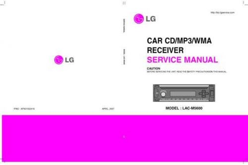 LG LAC-M3600P1 Manual by download Mauritron #304763