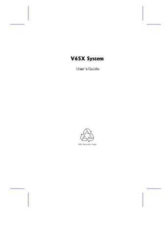 Panasonic V65X-0 Manual by download Mauritron #302620