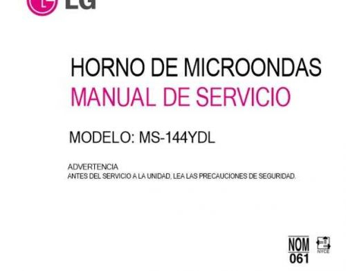 LG 3828W5S4274_2 Manual by download Mauritron #304310