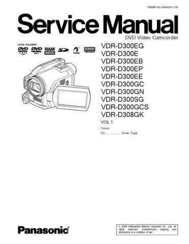 Panasonic VDR-D300EB by download Mauritron #302644
