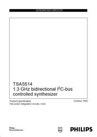 Panasonic TSA5514_CNV_2 Manual by download Mauritron #302436