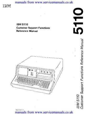 IBM SA21-9311-1_CustSupFn_Oct78 Technical Manual by download Mauritron #306074