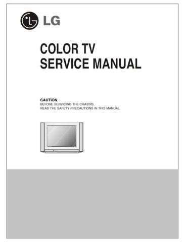 LG LG-21FA2RGP-TA Manual by download Mauritron #304782