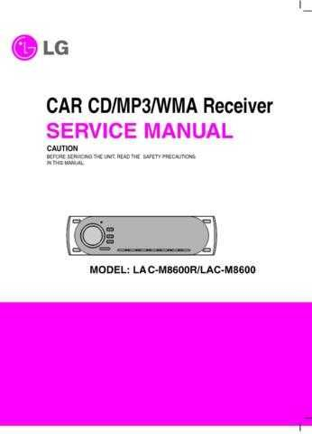 LG LAC-M8600R.S NEW EV CDC-2183 Manual by download Mauritron #304770