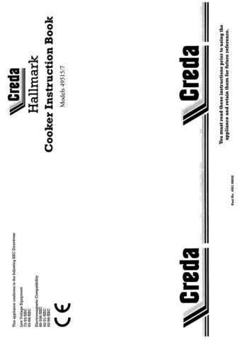 Creda HB49517 Operating Guide by download Mauritron #312949
