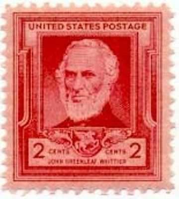 1940 2c John G. Whittler Scott 865 Mint F/VF NH