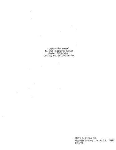 AVO 6617250 Series Operating Guide by download Mauritron #308819