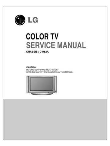 LG Service Manual_CW62A CDC-2182 Manual by download Mauritron #305892