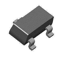 SMT Transistor - BCF70 PNP General Purpose Amplifier (SOT-23) - 22 Pieces