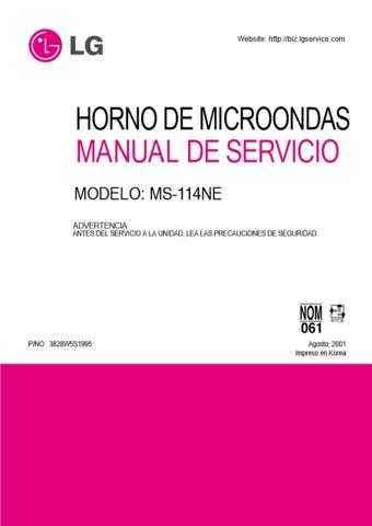 LG 3828W5S1995_2 Manual by download Mauritron #304269
