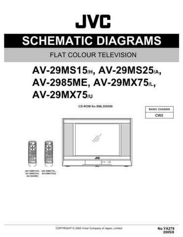 JVC AV-28T56SP=----------------- Service Manual by download Mauritron #279814