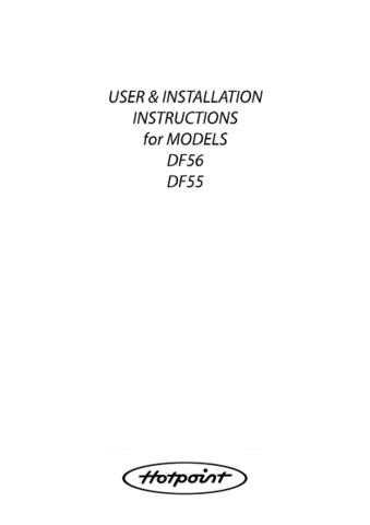 Hotpoint DF62 Dishwasher Operating Guide by download Mauritron #313566