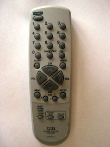REMOTE CONTROL - CCD closed caption decoder TV text mute sleep call quickview