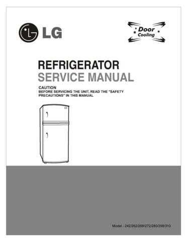 LG LG-REF SERVICE MANUAL (DD)_4 Manual by download Mauritron #304972