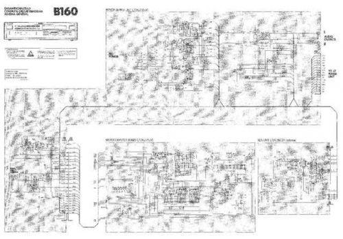 Revox B160 Circuit Diagram Schematics by download Mauritron #312223