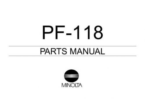 pf-118 (4658_7995_21) Manual by download Mauritron #306159