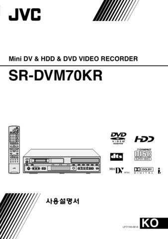 JVC LPT1105-001A Operating Guide by download Mauritron #294091