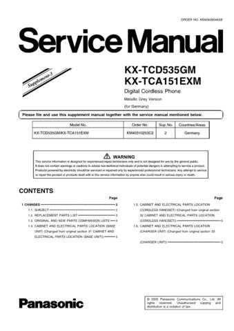 Panasonic TCD535G_3 Manual by download Mauritron #302128