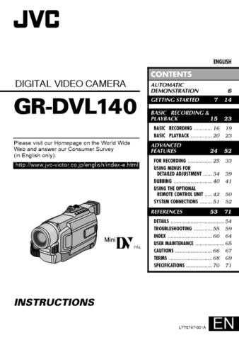 JVC LYT0747-001A Operating Guide by download Mauritron #294469