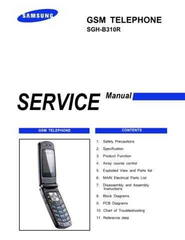 20080913150724296 00-SGH-B310R-COVER-1 Manual by download Mauritron #303299